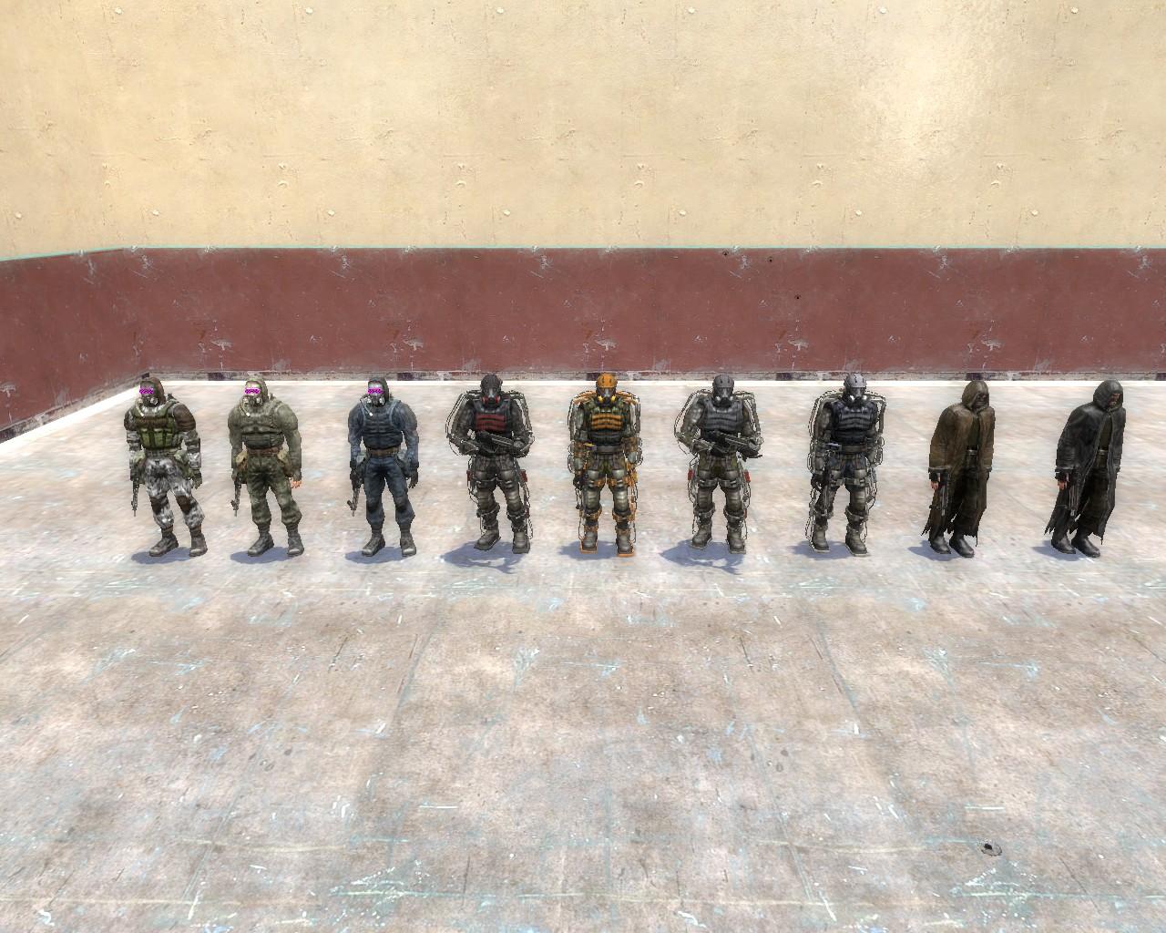 Garry's mod 13 — сталкер из s. T. A. L. K. E. R. : clear sky (игровая.