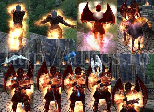 скачать мод на скайрим 5 на превращение в демона с крыльями - фото 10