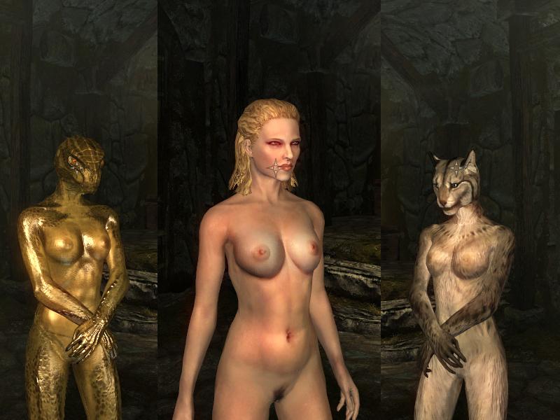 Обливион секси девушки