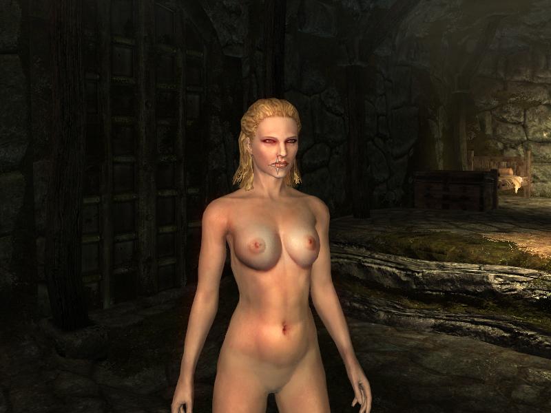 Скачать мод голые девушки на скайрим