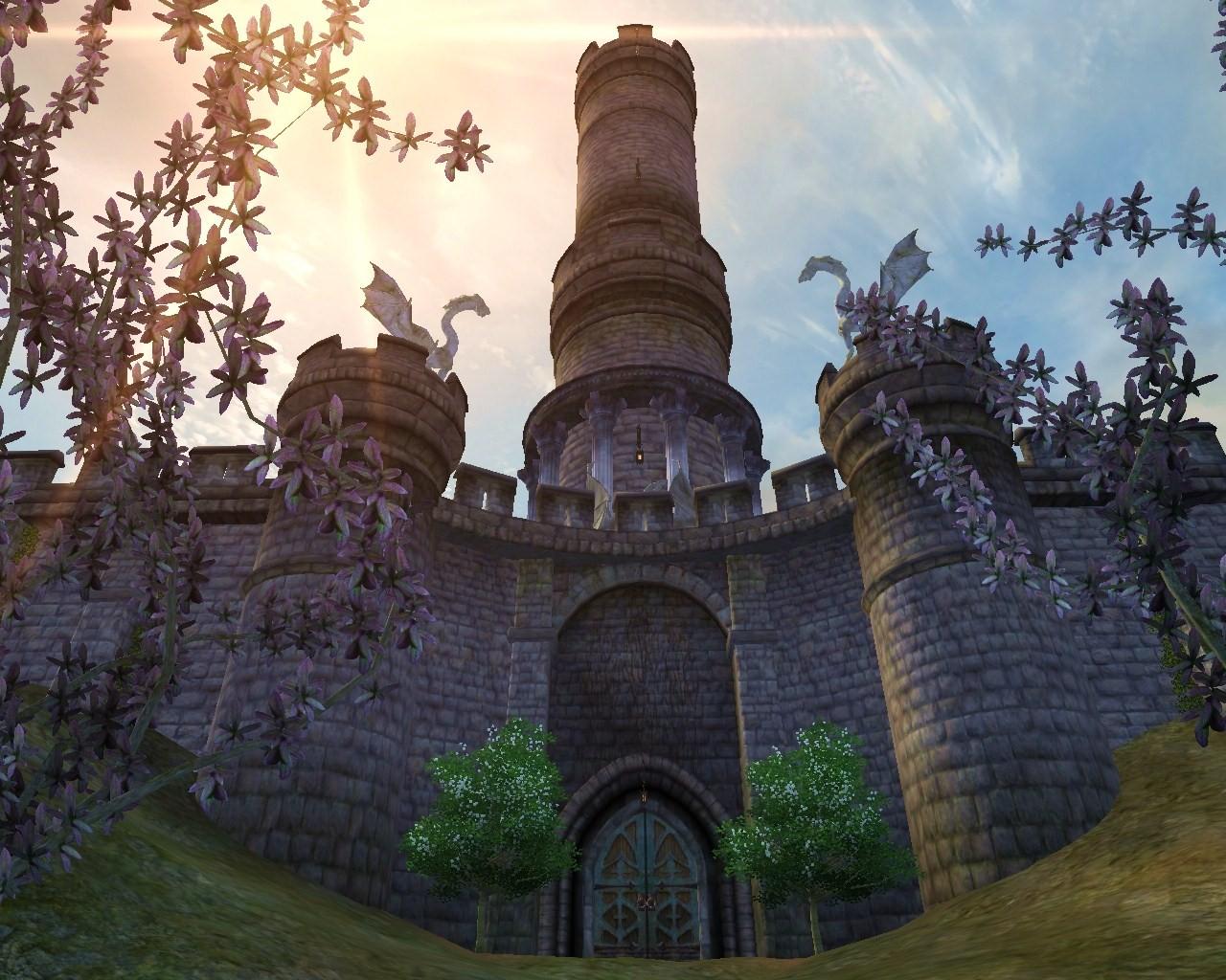 Скачать мод на обливион на замок