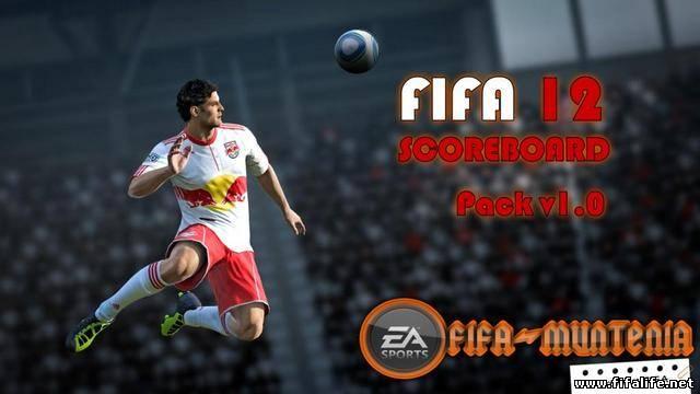 Ещё один патч для FIFA 12 demo, который добавит в игру новое табло. . Вам