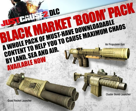 just cause 2 how to call black market