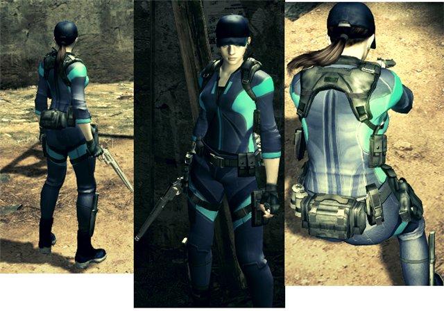 Resident Evil 5 Костюмы