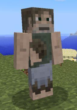 скачать скин бомжа для Minecraft - фото 11