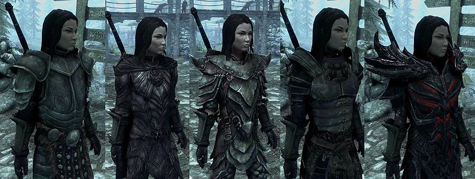 Skyrim коды женская броня секси