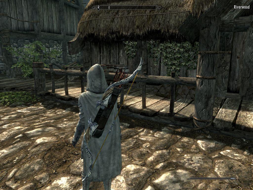 Скачать мод на луки и мечи