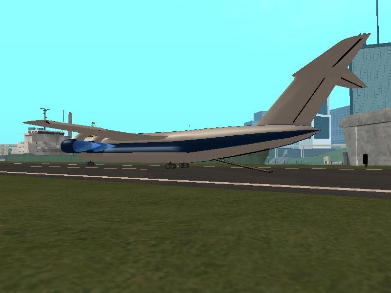 Как сделать самолёт в гта сан андреас 409