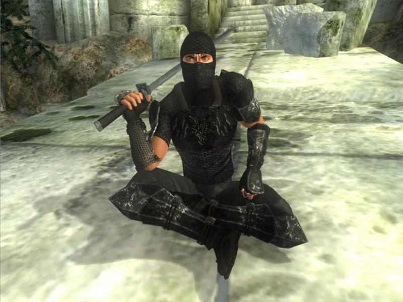 скачать мод для скайрима на броню ниндзя - фото 4