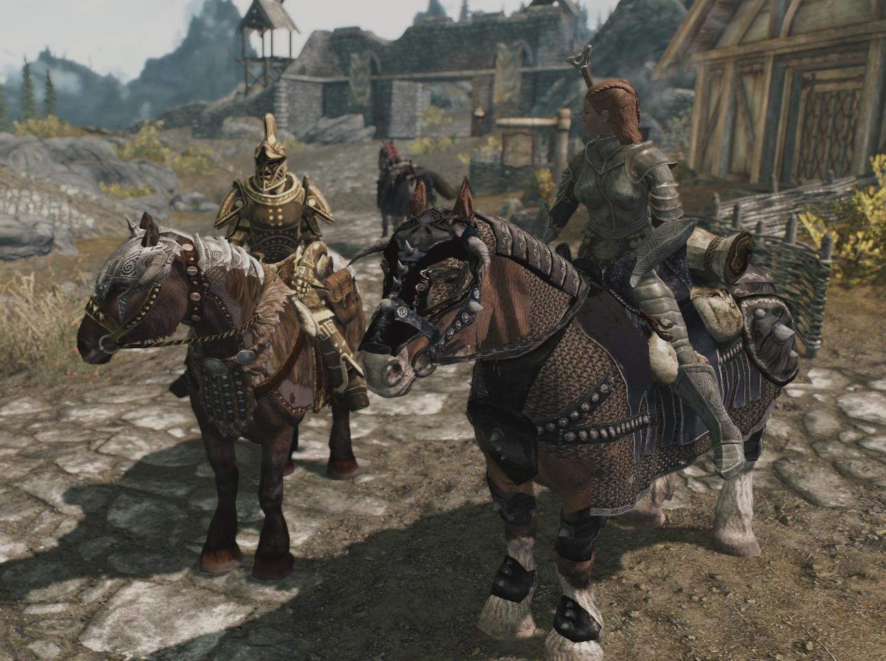 Скачать моды на скайрим моды на лошадей
