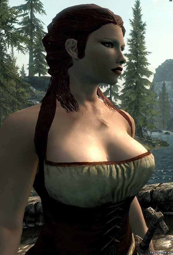 Tes 5 skyrim мод замена стандарной брони на сексуальную эротическую броня