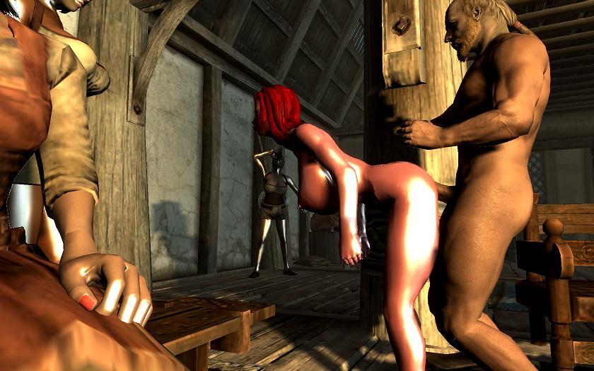 Секс в tes skyrim