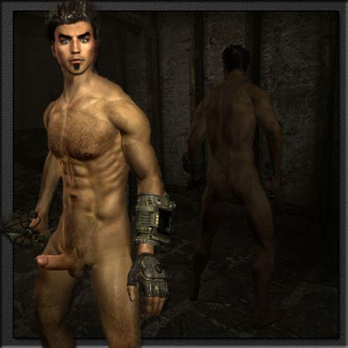 Skyrim голые мужики