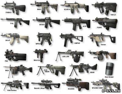 скачать моды на Counter Strike на оружие - фото 10