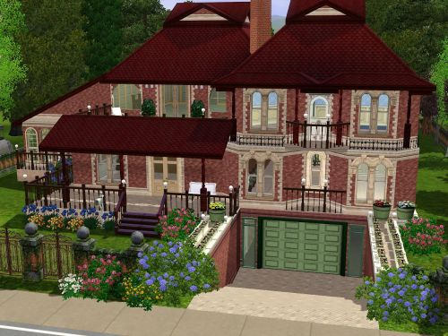 sims 3 house with basement demo