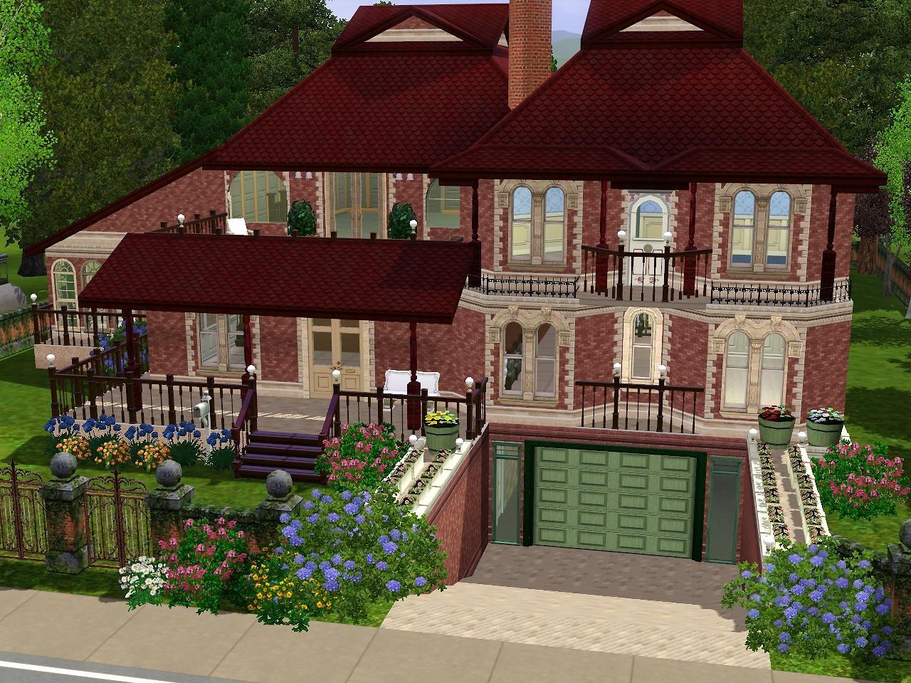 """Sims 3 """"house with basement"""" файлы патч, демо, demo, моды."""