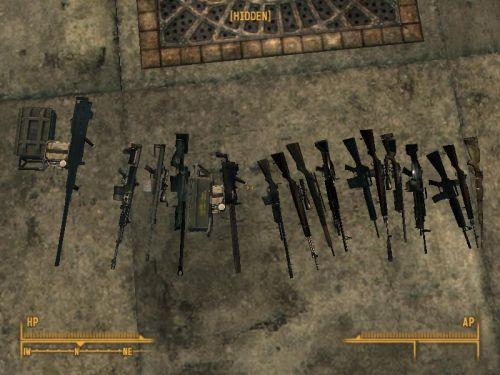 скачать моды для Fallout 3 на оружие - фото 4