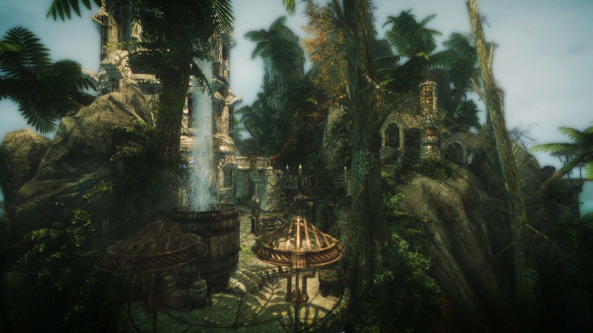 Мод на Скайрим Лунные Тропы Эльсвейра
