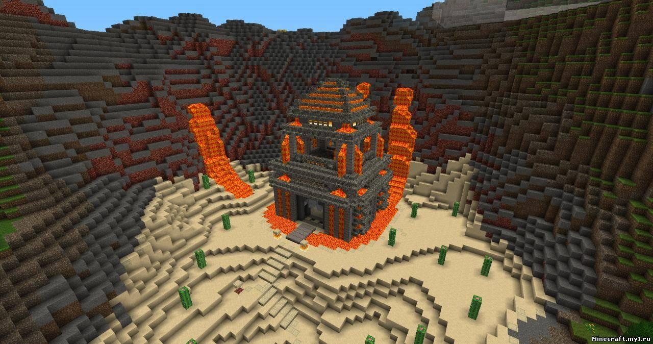 скачать карту дом на дереве в minecraft #8