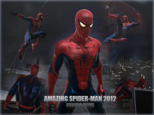 скачать скин на игру новый человек паук 2 - фото 11