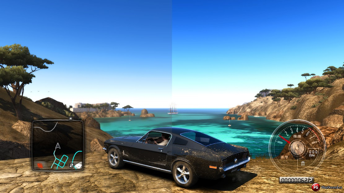 Test drive unlimited 2 new graphic intense mod youtube.