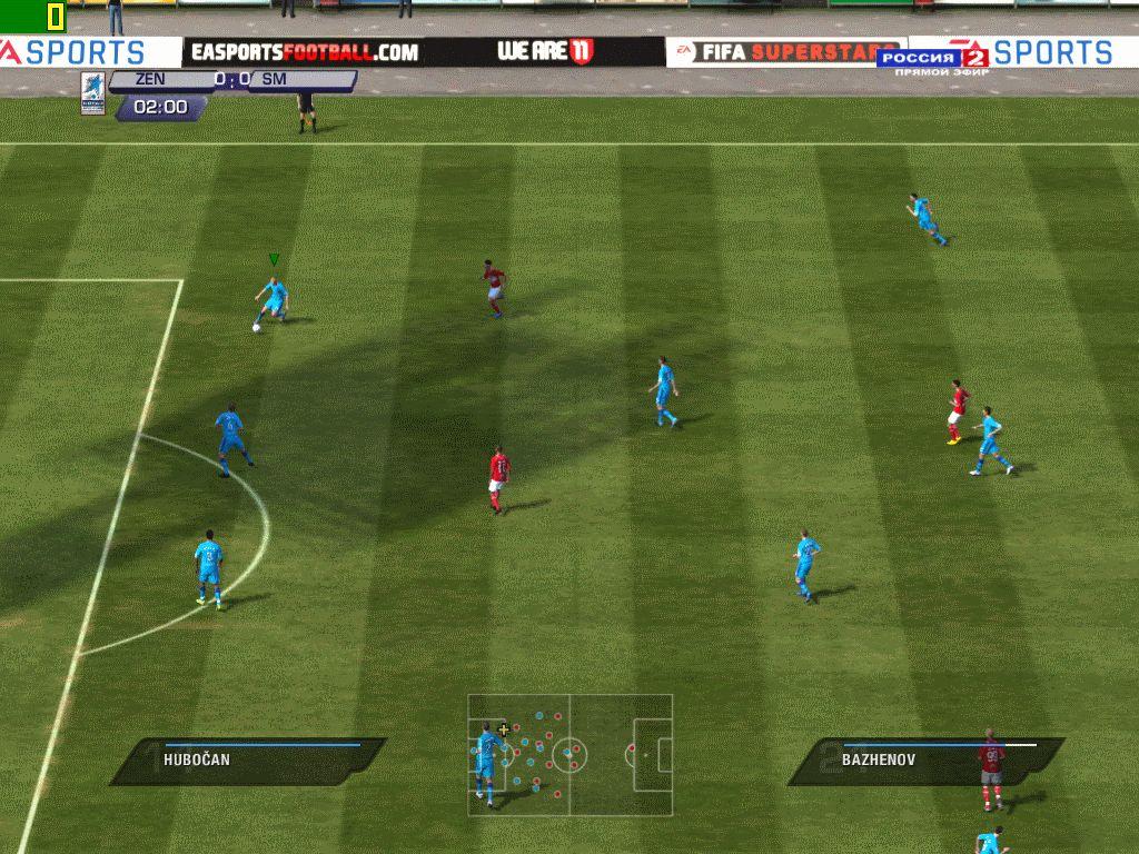 Fifa 11 попапс россия 2