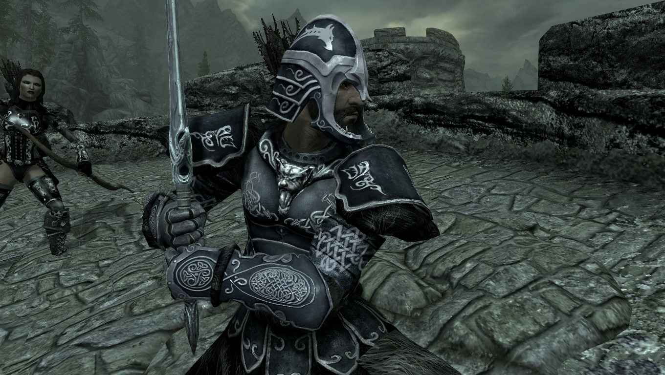 Guild Master Heavy Armor Replacer For Tes V Skyrim: Skills - The