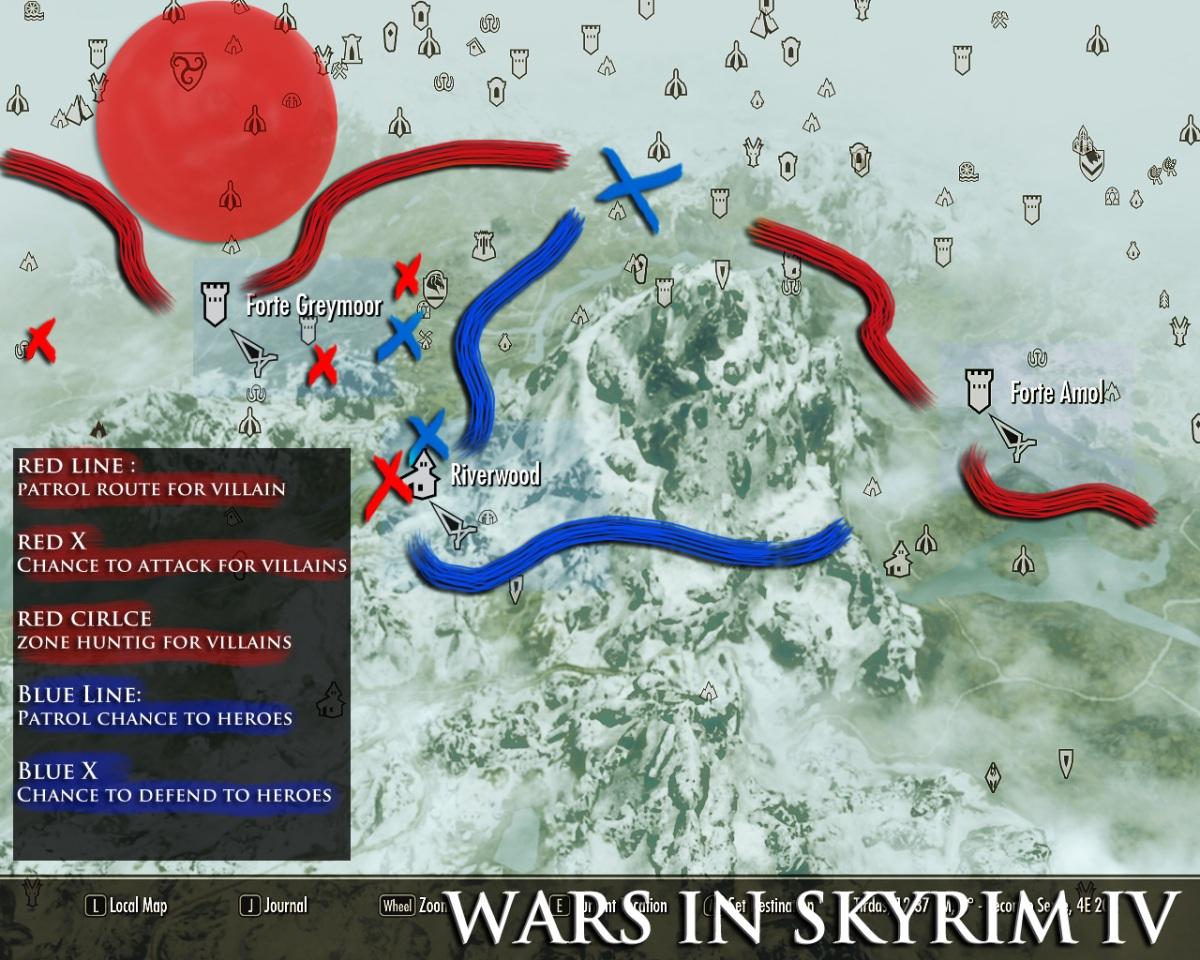 Мод на Скайрим на Войну с Талмором