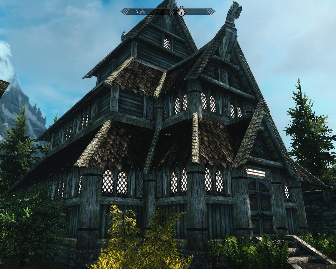Skyrim моды на Дома для игрока