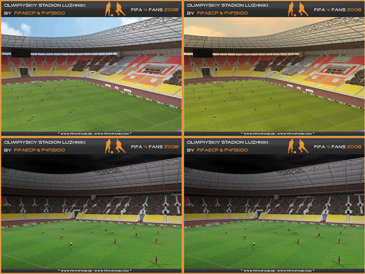 FIFA 08 Russian Stadium Patch .