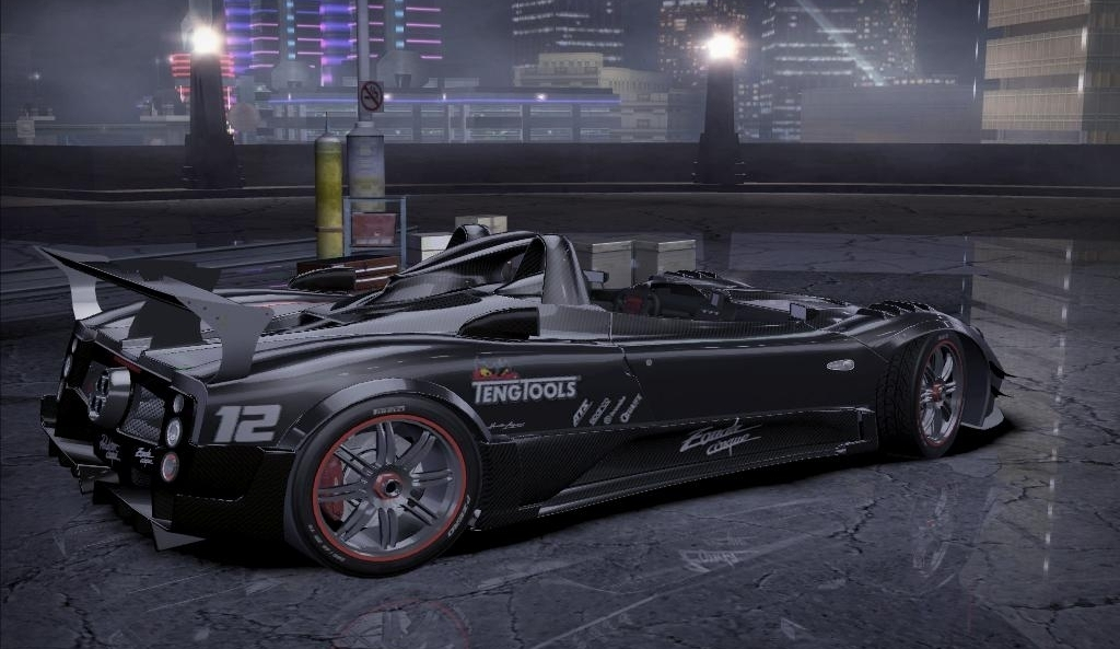 "need for speed carbon ""pagani zonda cinque roadster"" - Файлы - патч"