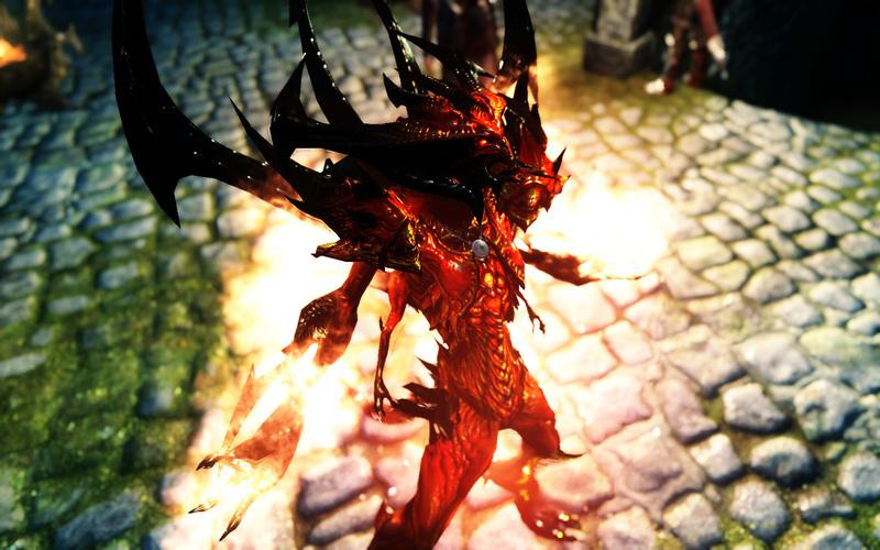 скачать мод на скайрим 5 на превращение в демона с крыльями - фото 7