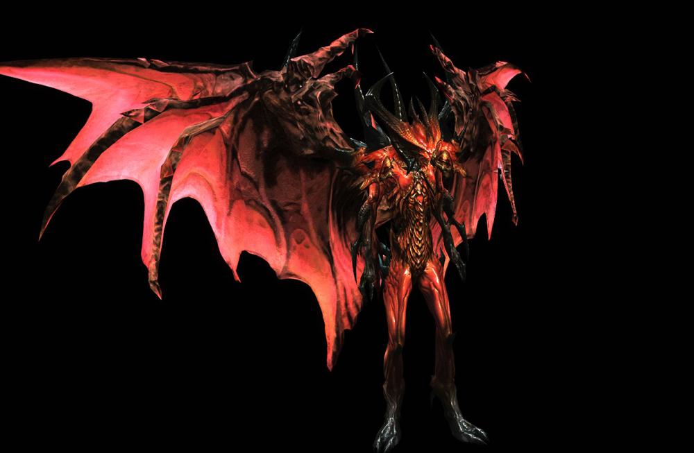 скачать мод на скайрим 5 на превращение в демона с крыльями img-1