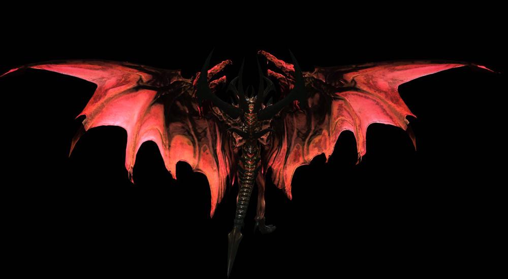 скачать мод на скайрим 5 на превращение в демона с крыльями - фото 2