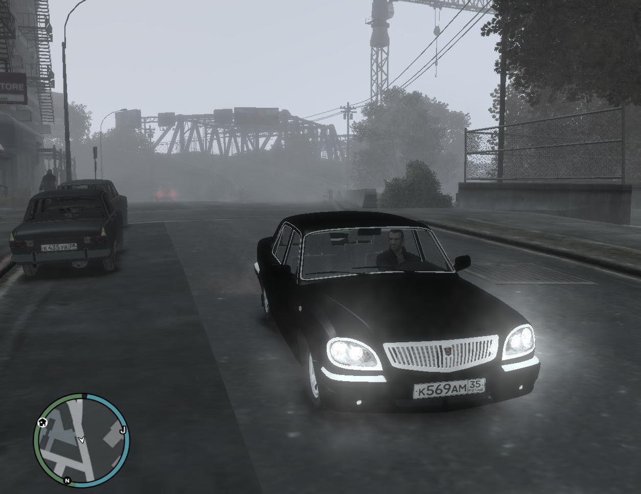 Grand theft auto 4 чистая