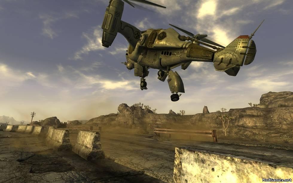 Enclave для Fallout: New Vegas - Компьютерные игры, фильмы онлайн,