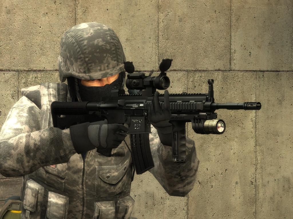 Counter strike source ct acupat urban