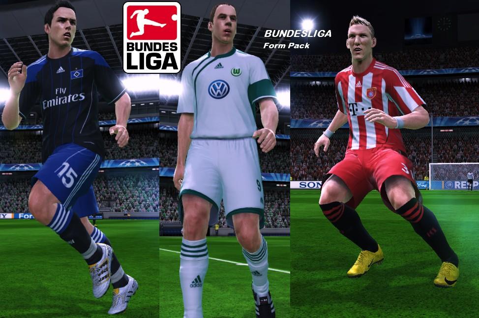 Pes 2010 bundesliga form pack demo for Bundesliga 2010