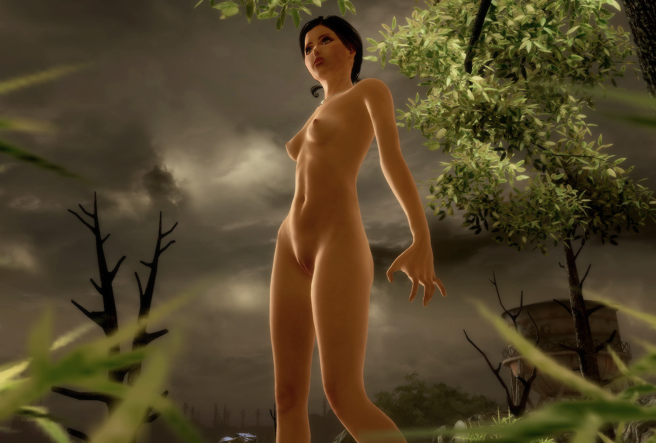 Naked chick game