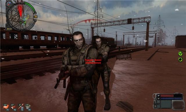 сталкер знакомство с зомби