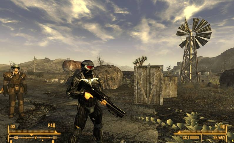 """Fallout: New Vegas """"Crysis Weapon Pack"""""""