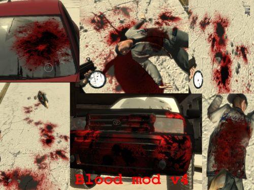 скачать мод на кровь на гта 4 - фото 3