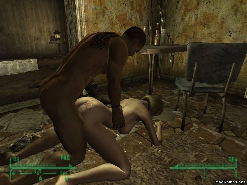 Fallout порно секс мод