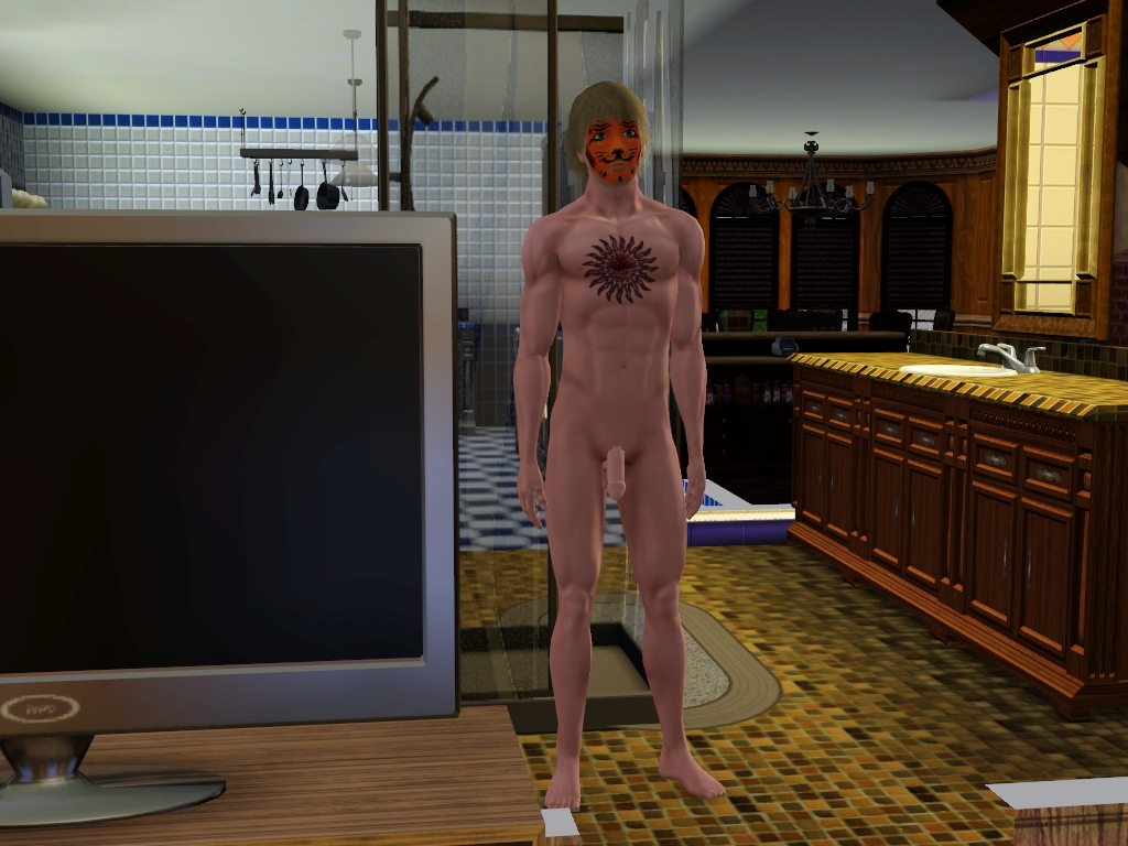 Naked sims dudes