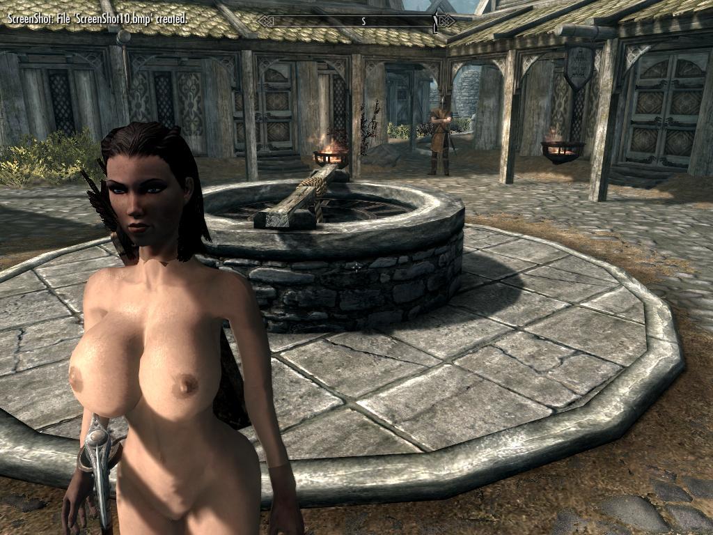Порно скрины skyrim