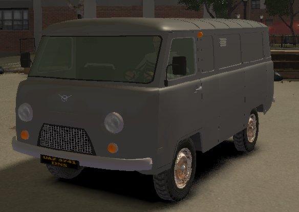 UAZ 3741.  Отечественные авто.