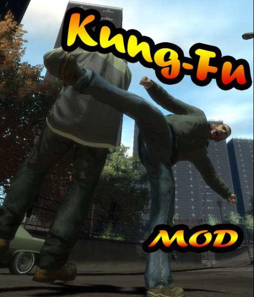 GTA 4 Kung-Fu MOD