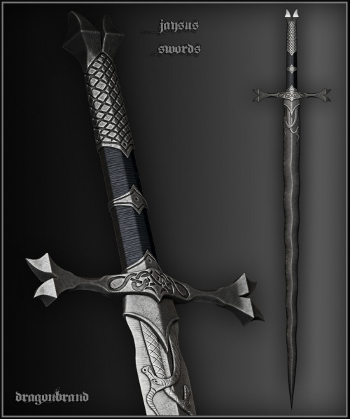 скачать мод на скайрим на меч крестоносца