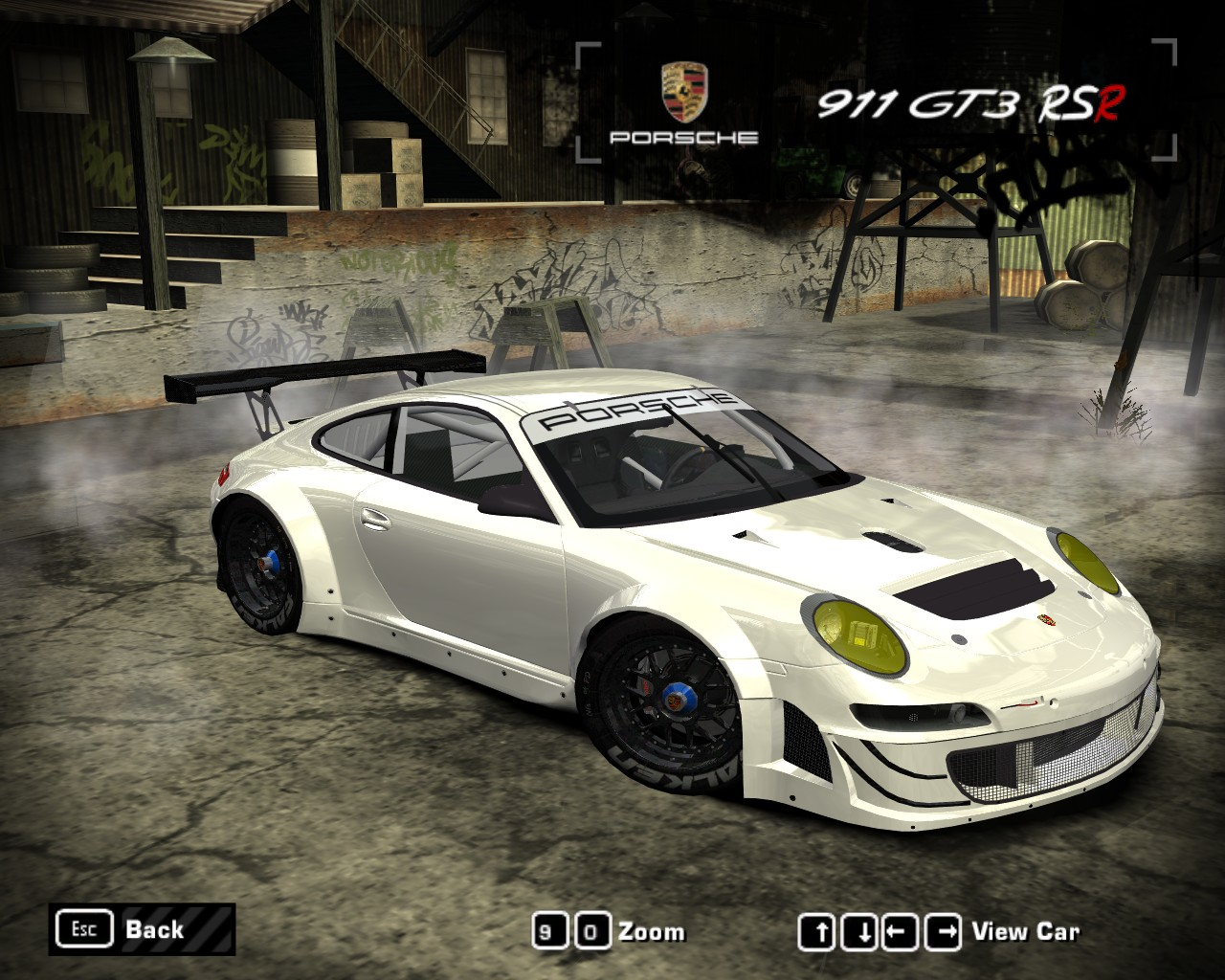 need for speed most wanted porsche 911 997 gt3 rsr. Black Bedroom Furniture Sets. Home Design Ideas