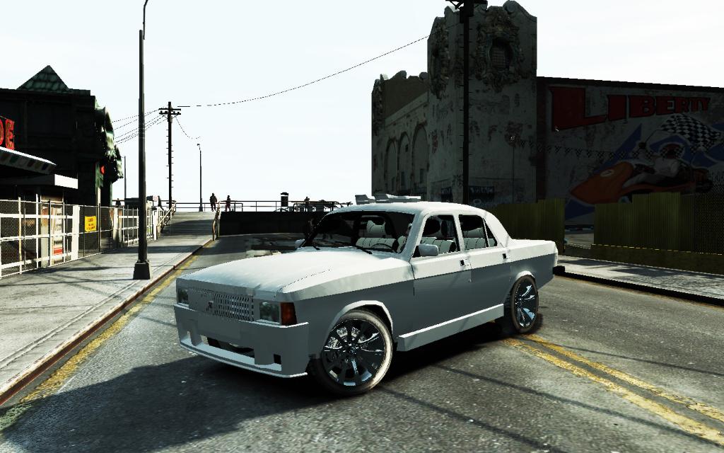 ГАЗ 3102 Волга для GTA IV в